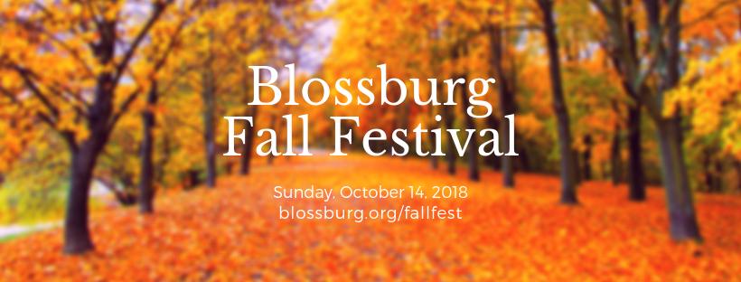 Blossburg Fall Festival – Oct. 14, 2018